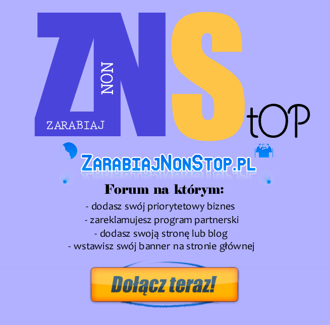 plakat zarabiaj non stop dodaj banner