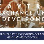 The Gcc Group otwiera swoją giełdę. Może to mieć świetne przełożenie na ich kryptowalutę