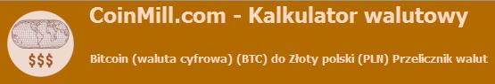 bitkoin przelicznik