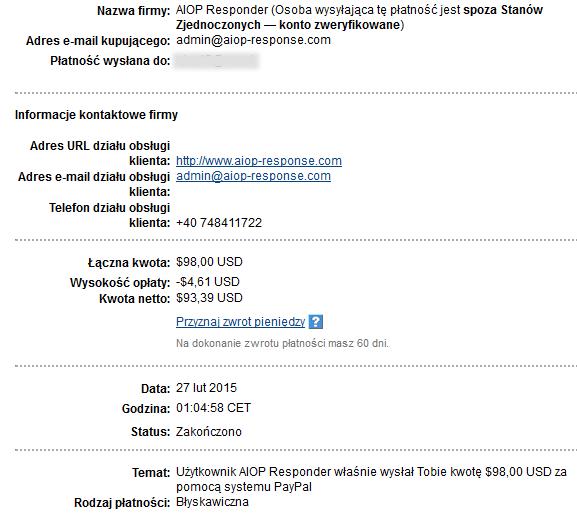 98$ 27.02.2015 wypłata