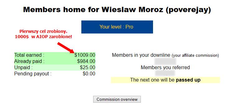 cel 1000$ Aiop Zrobiony