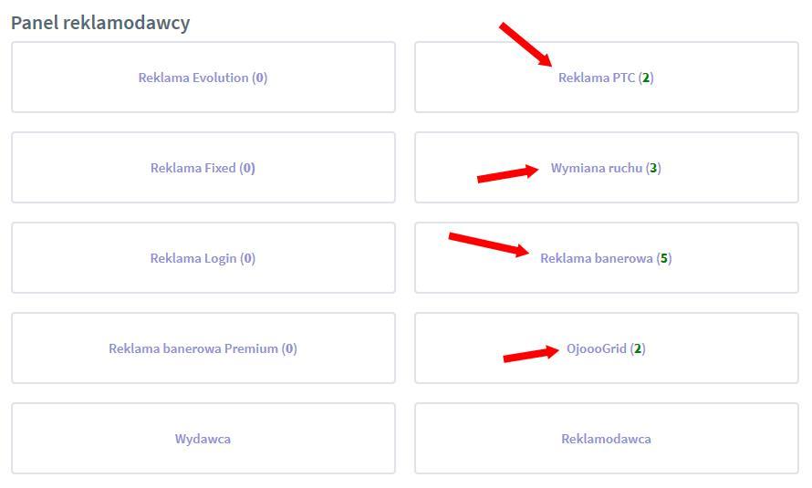 Wad.Ojooo - Darmowa lub Płatna reklama. Polski interfejs