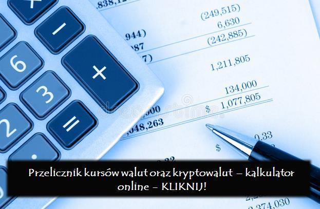 Kalkulator - Przelicznik kryptowalut