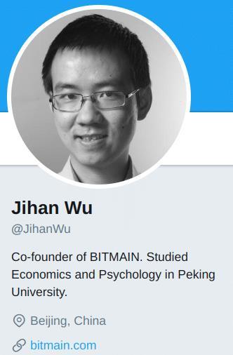 Jihan Wu: opowieść o Bitmain, wulgarności Twittera i ewangelizacji BCH