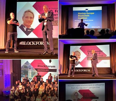 Jan M. Pasboel gościem Startup Europe Block Forum w Wilnie