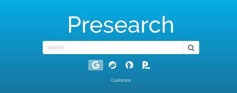 Presearch - Surfuj w przeglądarce, zarabiaj krypto, token notowany na giełdach