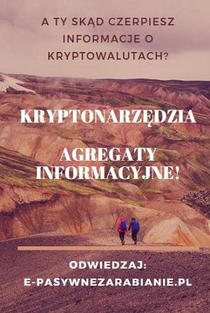 (KRYPTONARZĘDZIA) Chyba, pierwszy polski agregat informacyjny o tym co się dzieje na rynku kryptowalut