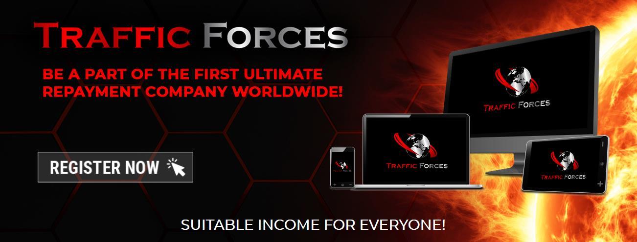Traffic Forces - Robisz (click) i zarabiasz, robisz (credits) i reklamujesz