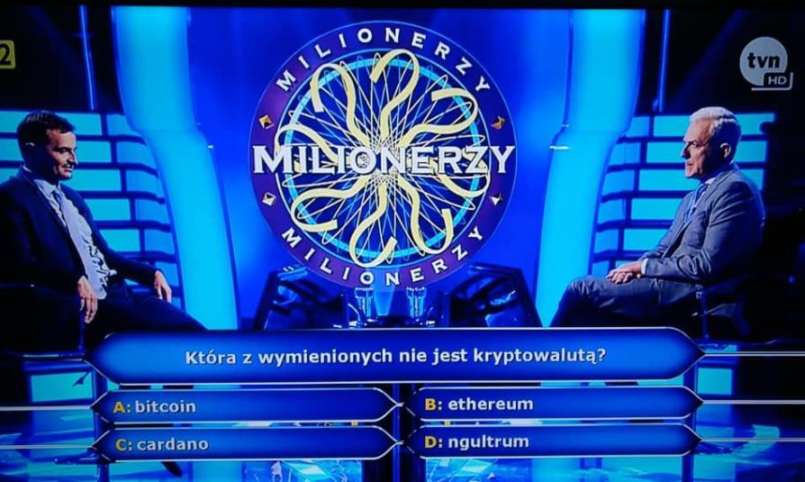 Milionerzy w TVN...a Kryptowaluty