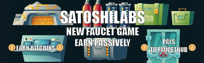 SatoshiLabs - Faucets, różne oferty zarobkowe plus plan pasywny