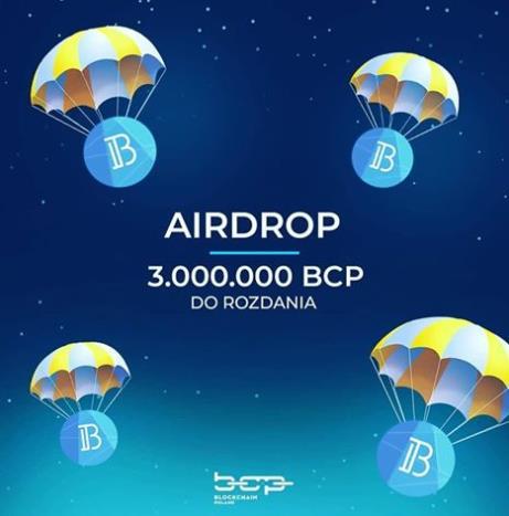 AirDrop - Dwa gotowe produkty. Token jest dostępny między innymi na BitBay