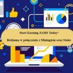 CryptoJAMS - Nowoczesne połączenie reklamy z cyfrową monetą