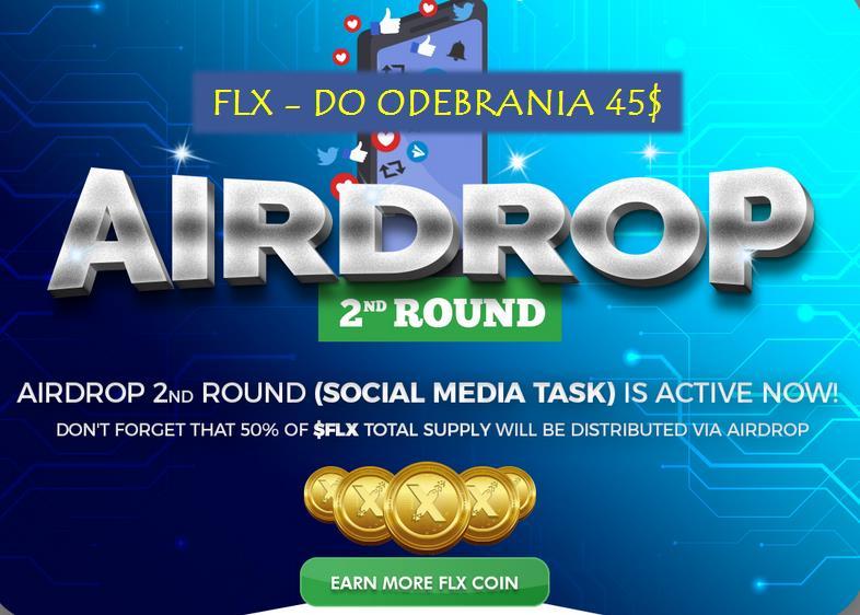 Airdrop Felixo - II Tura - Giełdowy Token w zasięgu ręki