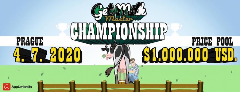 Get Milk Master PL - Konkurs - Główna nagroda ...550 000 $