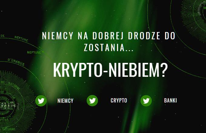 Niemcy coraz bardziej przyjazne kryptowalutom? Ich banki będą przechowywać Bitcoiny?