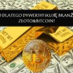 Nowa platforma Blockchain która umożliwia wymianę złota na kryptowaluty