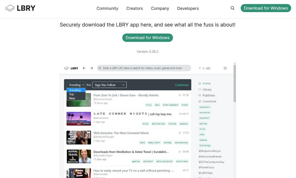 Lbry.tv - alternatywa dla YouTube na której możesz zarabiać