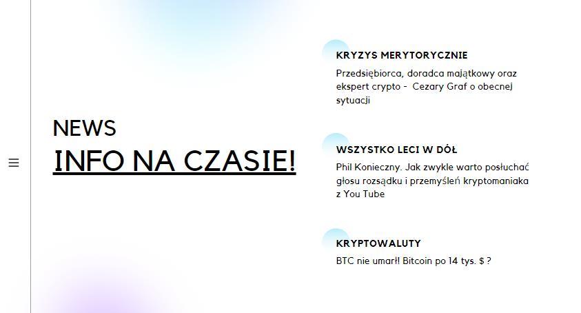 Kryptowaluty, Gospodarka, Kryzys - NEWSY 22.03.2020