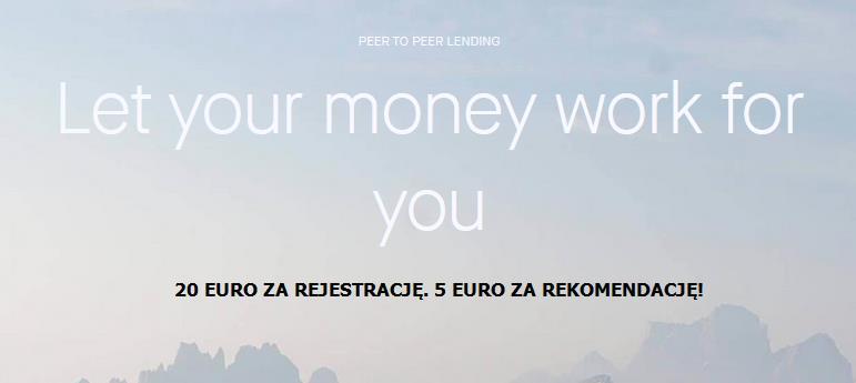 Firma działająca od 4 lat, daje 20 euro w bonusie!