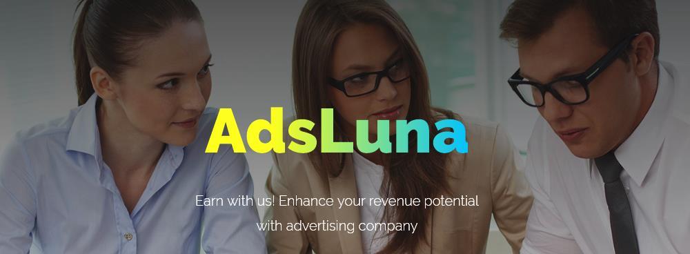Zarabiaj na swojej stronie z AdsLuna