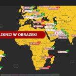 """Z cyklu """"Przydatne do Bitcoina"""" - Mapa cen na świecie"""