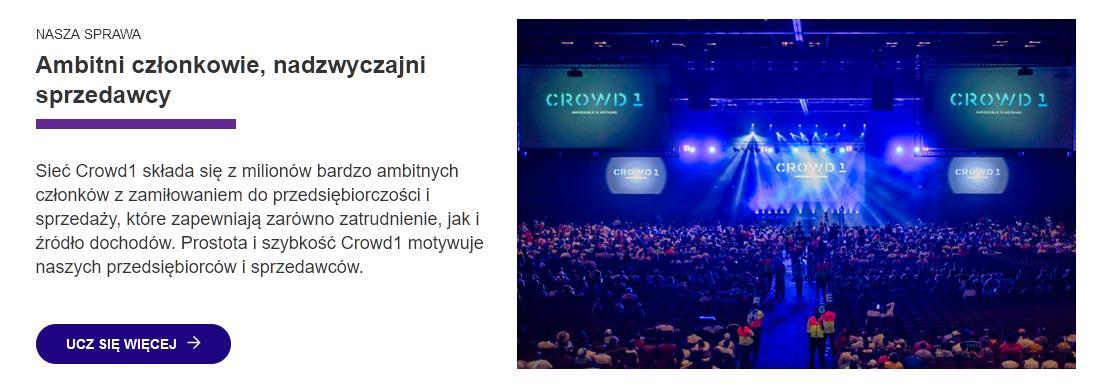 Crowd1 Business - Więcej mocy, więcej wydajności, więcej pieniędzy!