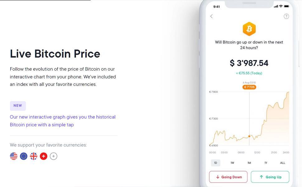 Przewiduj cenę Bitcoina! - zgarniaj za to kasę! Bonus od 1 do 100 €. Wielo - produktowy Fintech