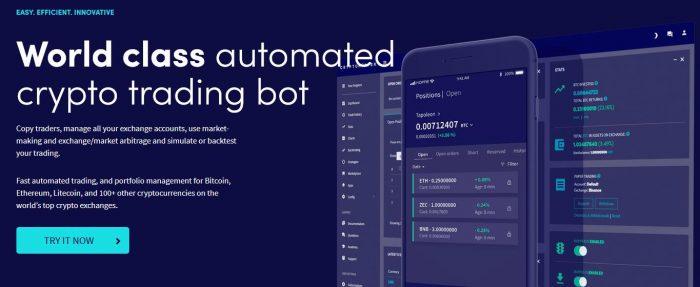 Cryptohopper - zautomatyzowany bot do handlu kryptowalutami, który umożliwia automatyczny handel ulubionymi monetami w chmurze 24/7