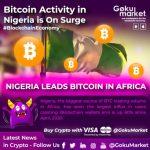 Aktywność Bitcoin w Nigerii rośnie w siłę 💪. Chiński bank centralny & yuan