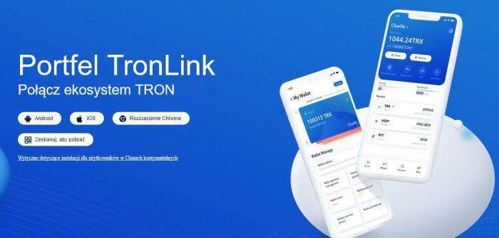 TronLink - Rozdaje 1 milion TRX. Odbierz darmowe crypto. Edycja Limitowana!