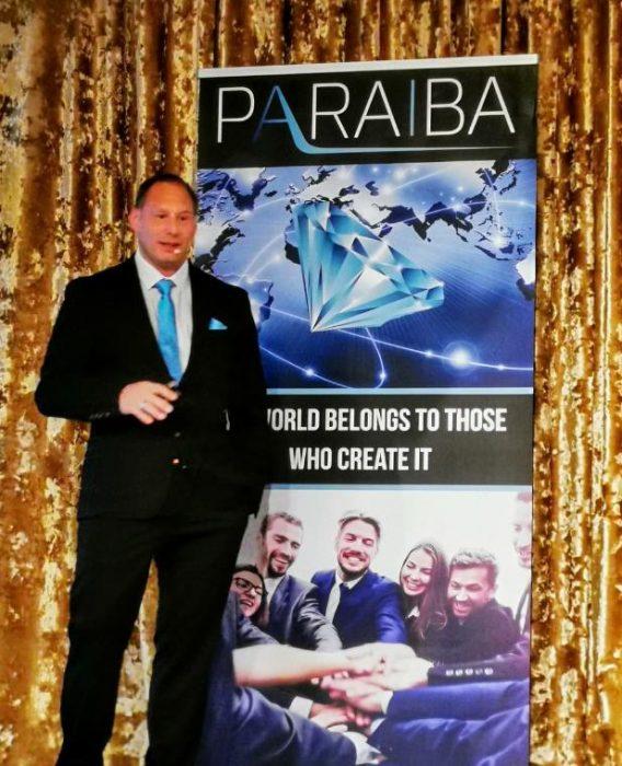 Paraiba -  W jaki sposób znalazł się w tym projekcie znany mówca oraz niemiecki lider?