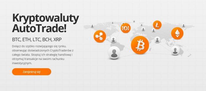 Obserwuj doświadczonych CryptoTraderów z całego świata. Skopiuj ich strategię i otrzymuj profity na swoje osobiste konto