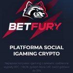 Bez inwestycyjna platforma BetFury to Social i-Gamingowy projekt do zdobywania Crypto