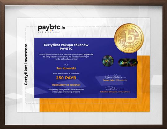 Zostań inwestorem paybtc innowacyjnego marketplace'u, który rewolucjonizuje rynek zakupów online łącząc w sobie cechy wyszukiwarki produktów, cechy ofert typu Hot Deals oraz szybkich i bezpiecznych płatności kryptowalutami. Tokenizacja na 100%!
