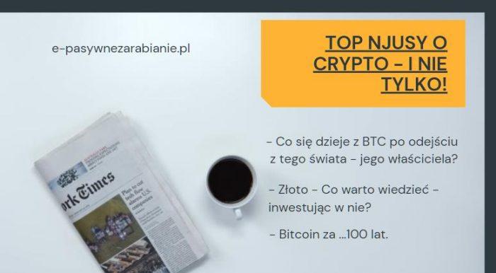 Co się dzieje z Bitcoinami w przypadku gdy ich właściciel, odejdzie z tego świata?, Inwestujesz w złoto? sprawdź co warto w tym temacie wiedzieć, W jakiej formie oraz jaką rolę będzie pełnił Bitcoin za...100 lat ?